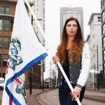 Bevrijdingsdag vlag van EHV promotions